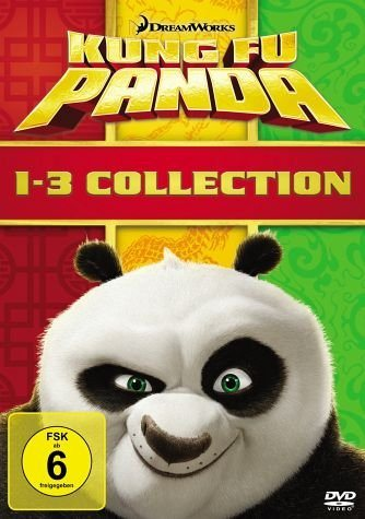 DVD »Kung Fu Panda 1-3 Collection (3 Discs)«