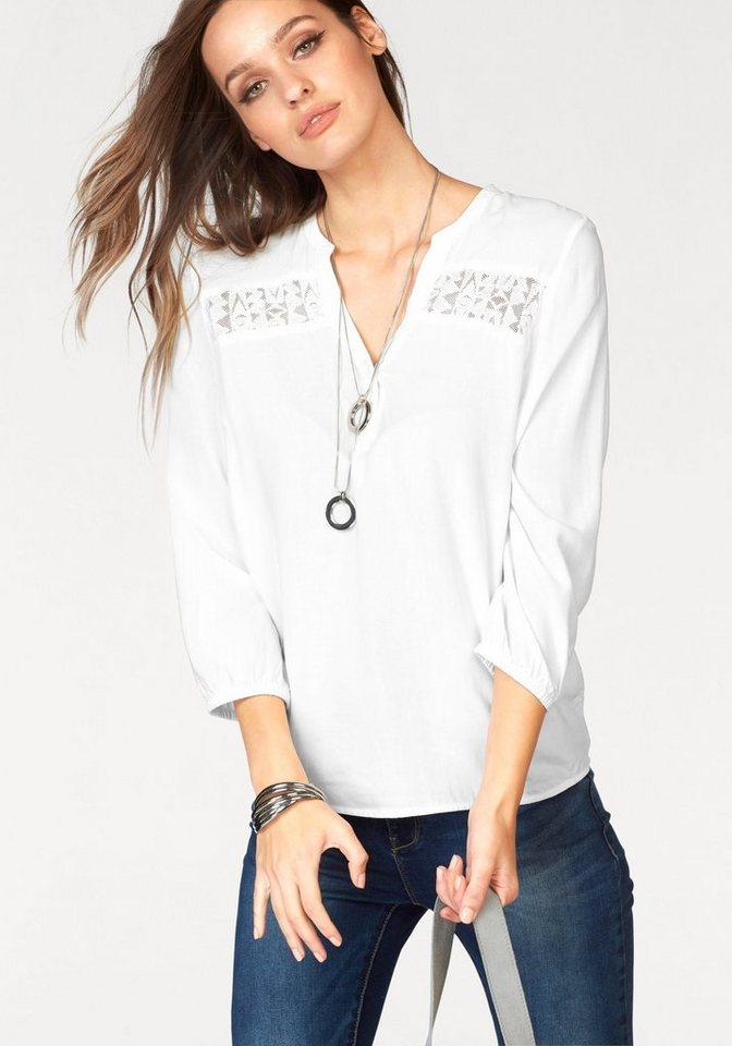 Vero Moda Klassische Bluse »PRANCER« in weiß