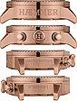 HAEMMER GERMANY Chronograph »JEANI, DSC-08« limitiert auf 999 Stück, Bild 2