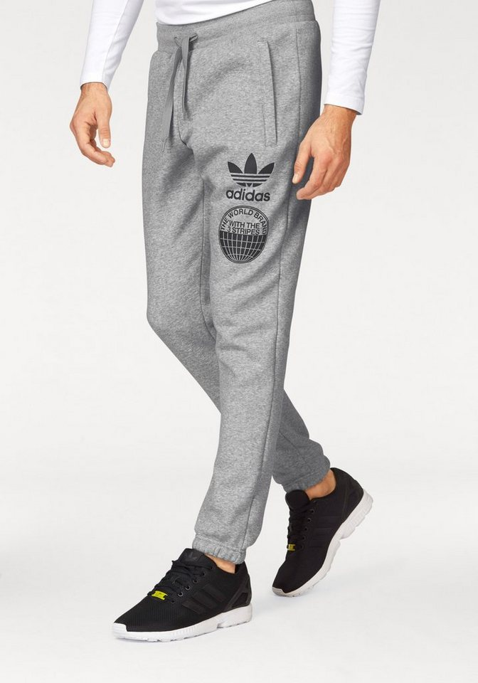 adidas Originals Jogginghose »STREET GRAPH SP« in grau