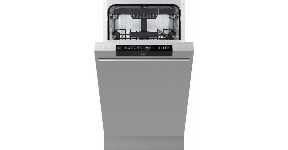 GORENJE Teilintegrierbarer Geschirrspüler GI 55110 S, A++, 9 Liter, 10 Maßgedecke