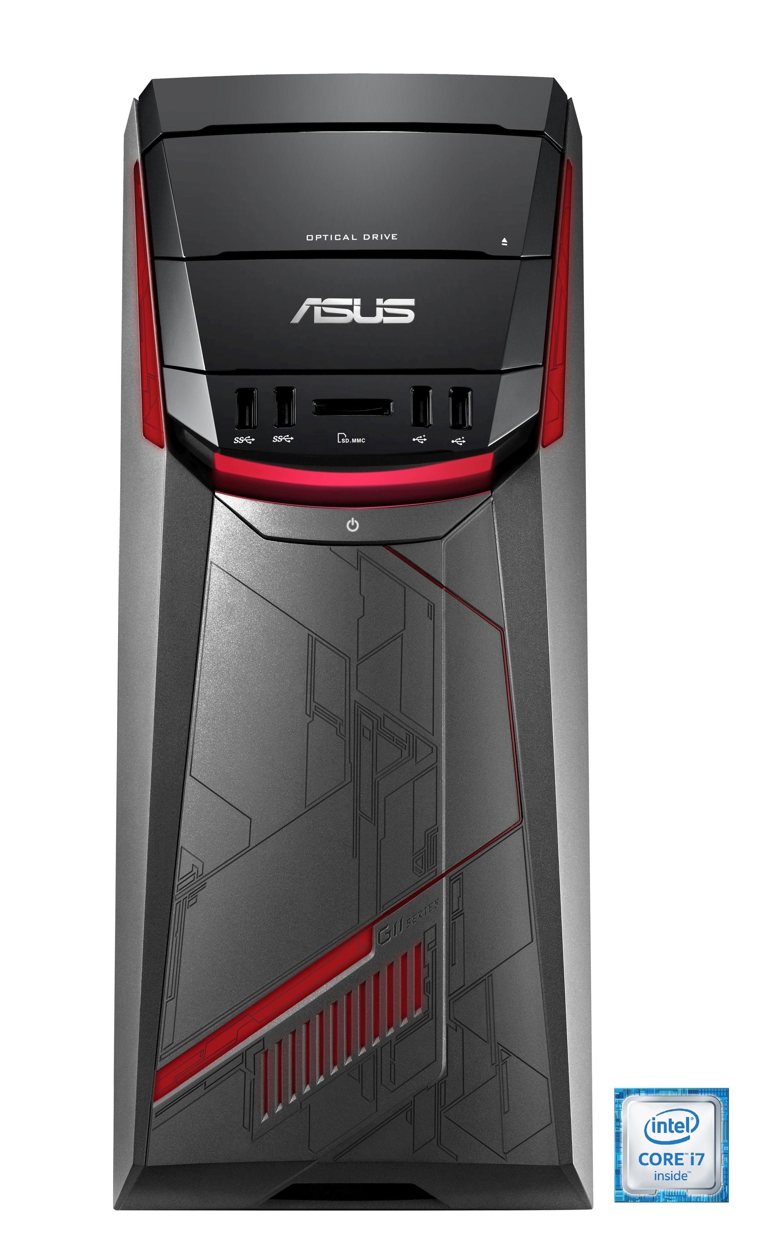 ASUS G11CB-DE026T ROG Gaming-PC »Intel Core i7, GTX 1070, 256GB + 1TB, 16 GB«