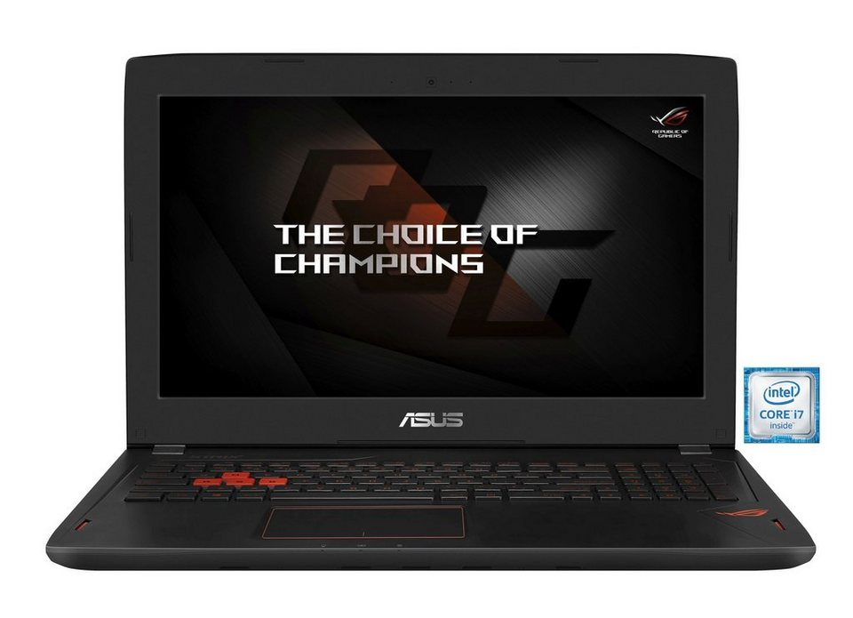 "ASUS GL502VS-FY043T Gaming-Notebook »Intel Core i7, 15,6"" (39,6cm), 512 GB + 1 TB, 8 GB« in schwarz"