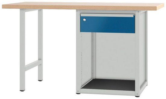 PADOR Werkbank »700.0.41 S 1/15 R«, Höhe: 85,5 cm