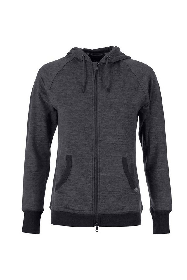 Super.Natural Merino Hoody »W TEMPO HOODY« in QUIET SHADE MEL