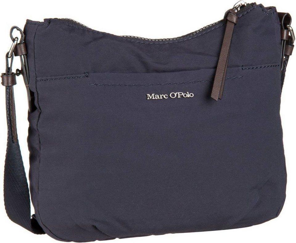 Marc O'Polo Crossbody Bag S Cotton/Nylon W4 in Navy