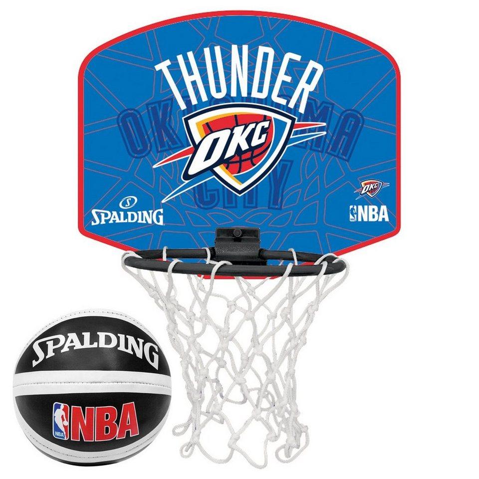SPALDING NBA Oklahoma City Thunder Miniboard in orange / blau