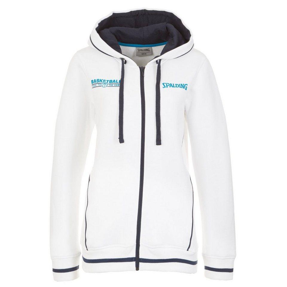 SPALDING TEAM Jacket 4her Damen in weiß/marine