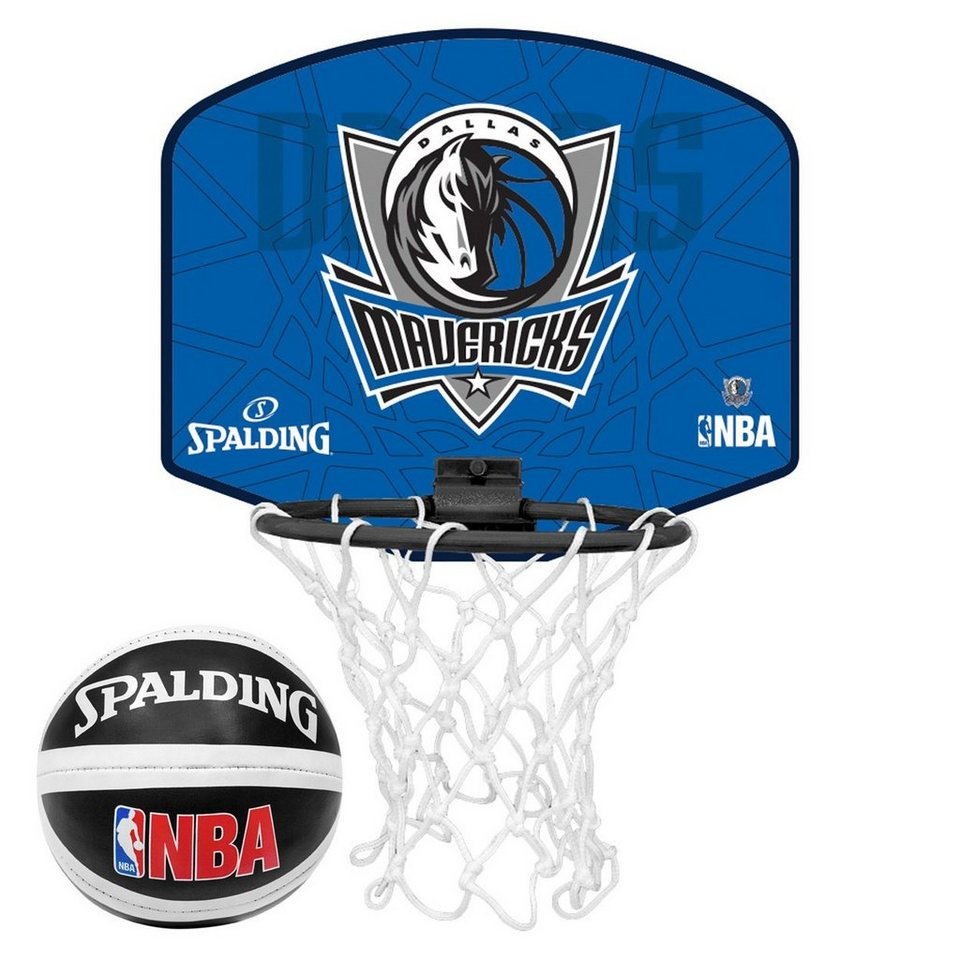 SPALDING NBA Dallas Mavericks Miniboard in blau / schwarz