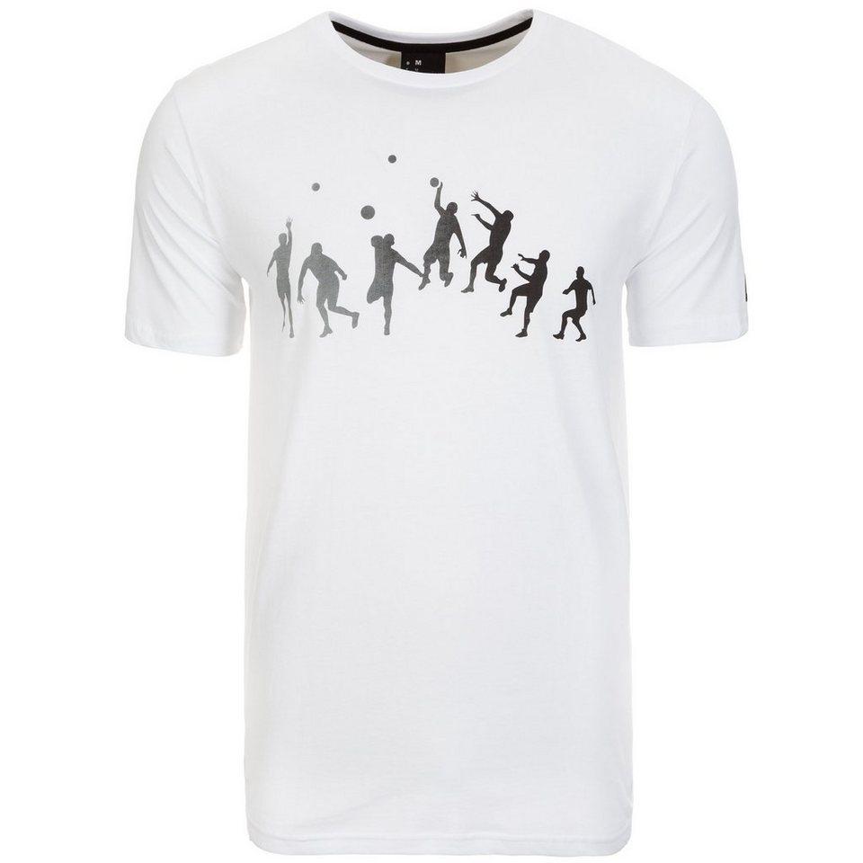 KEMPA Kempa Trick T-Shirt Herren in weiß / schwarz