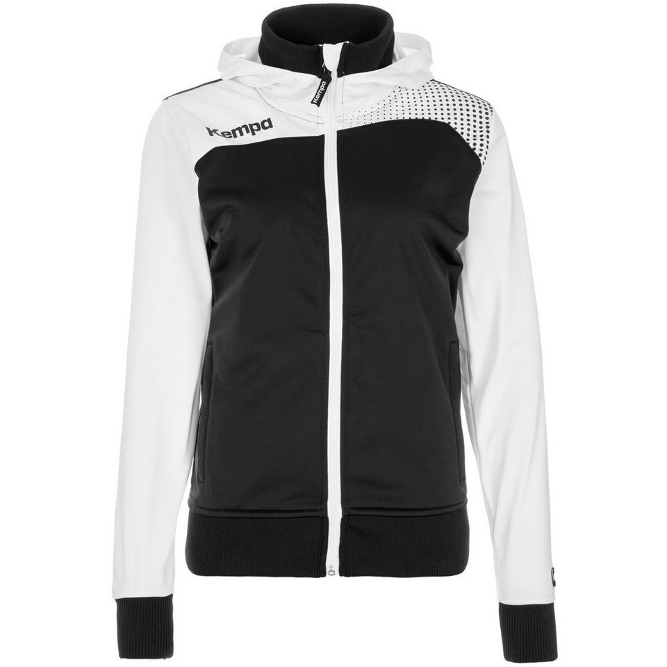 KEMPA Emotion Kapuzenjacke Damen in schwarz/weiß