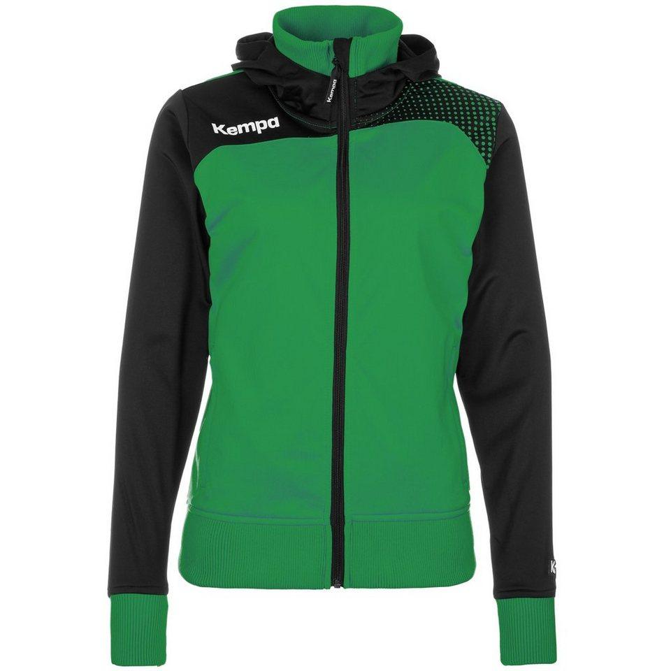 KEMPA Emotion Kapuzenjacke Damen in grün/schwarz