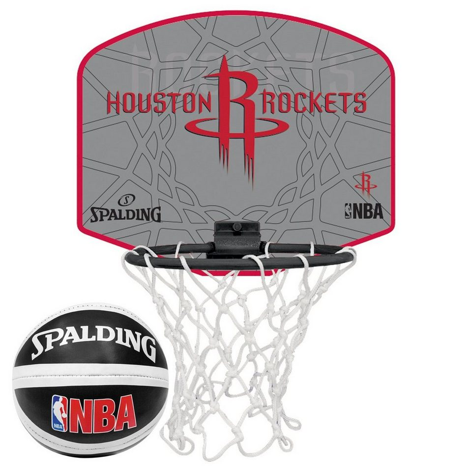 SPALDING NBA Houston Rockets Miniboard in rot / weiß