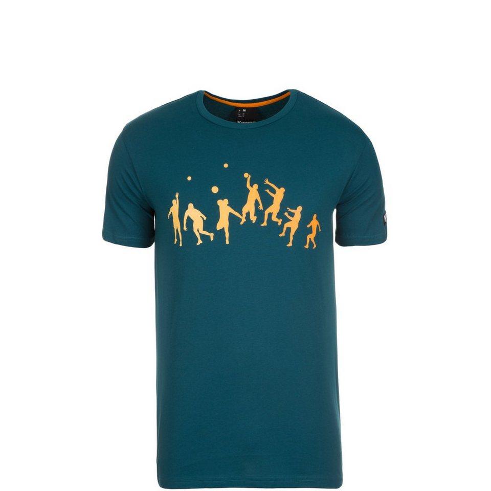 KEMPA Kempa Trick T-Shirt Kinder in petrol / orange