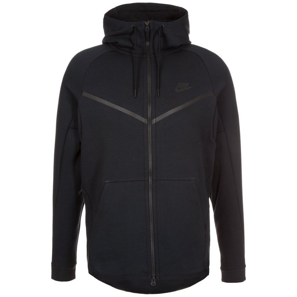 Nike Sportswear Tech Fleece Windrunner Kapuzenjacke Herren in schwarz