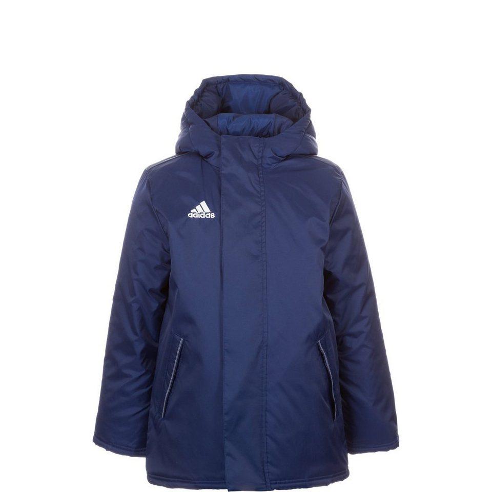adidas Performance Core 15 Stadionjacke Kinder in dunkelblau / weiß