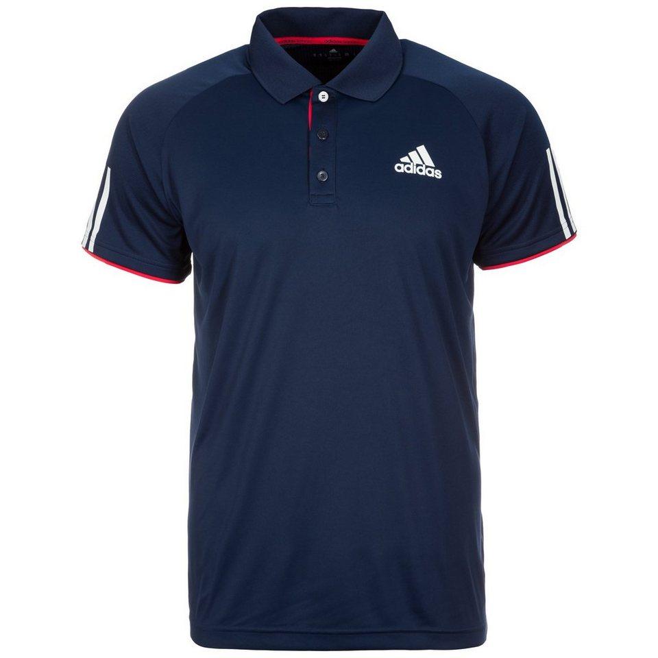 adidas Performance Club Tennispolo Herren in dunkelblau / weiß