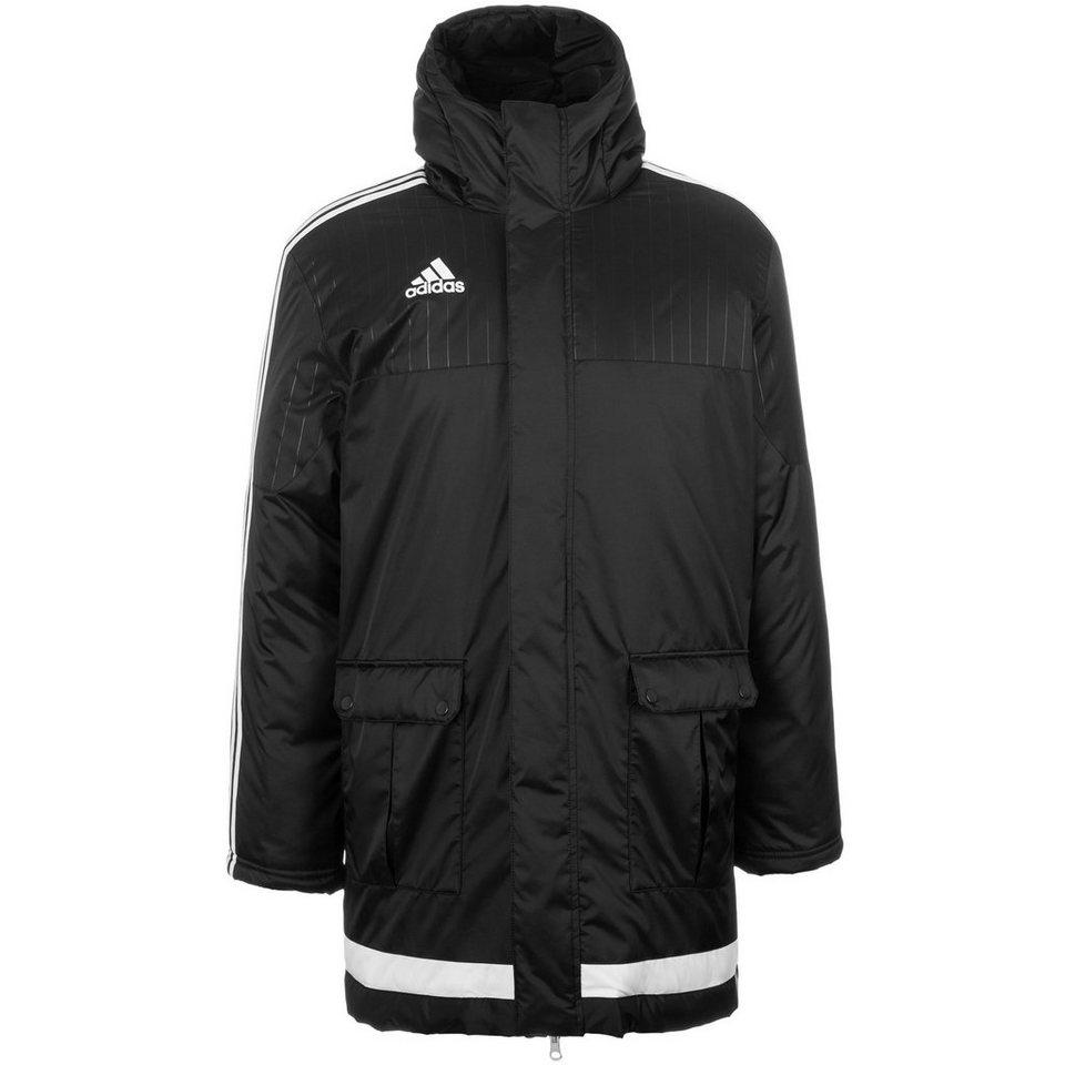 adidas Performance Tiro 15 Stadionjacke Herren in schwarz / weiß