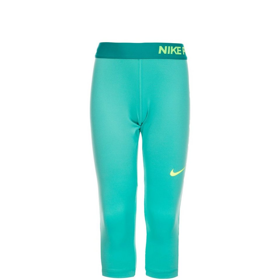 NIKE Pro Capri Trainingstight Kinder in türkis