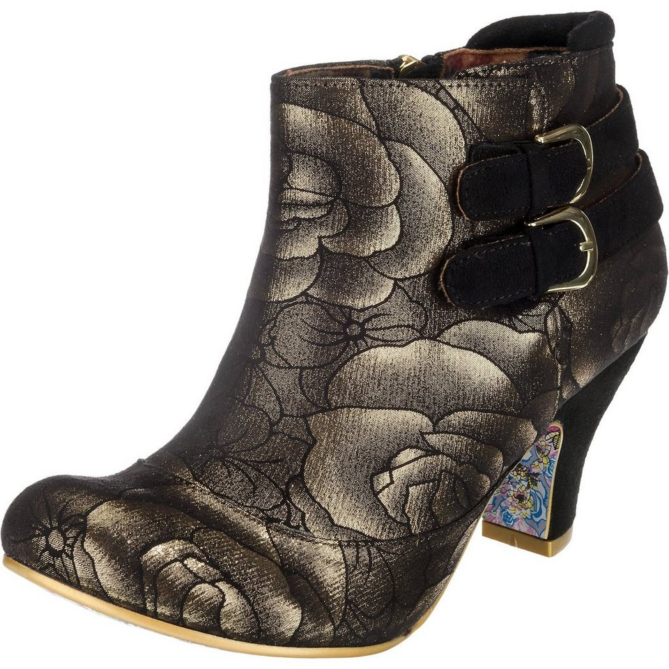 Irregular Choice Think About it Stiefeletten in schwarz-kombi