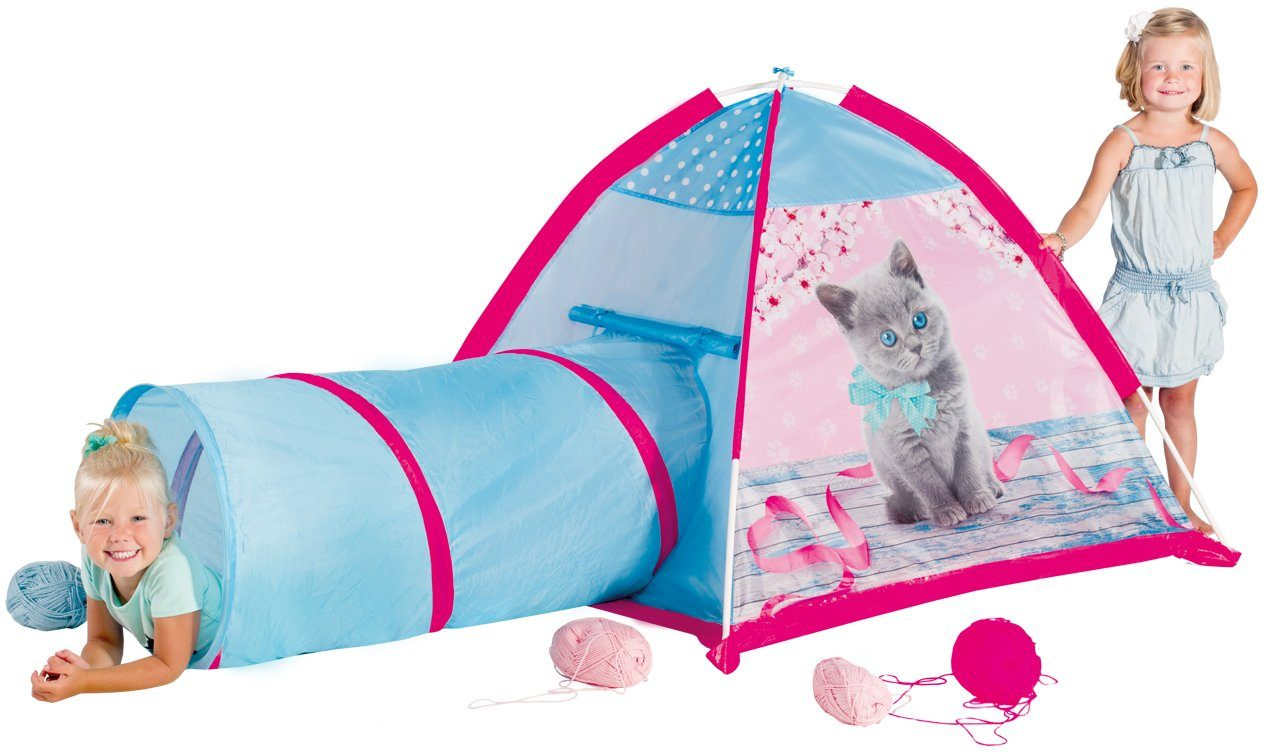 Spielzelt, »Micasa Kitten Tent and Tunnel«