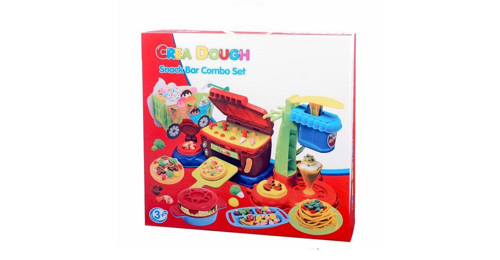 Knetmasse Set, »Crea Dough Snack Bar Combo Set«