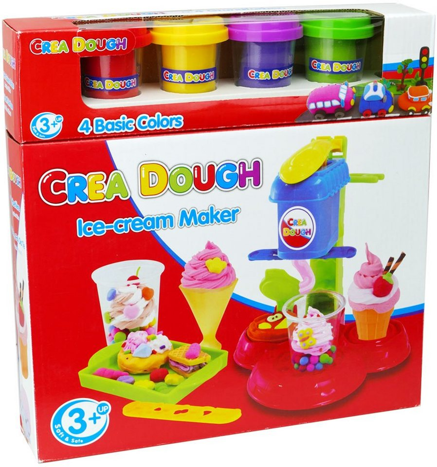 Knetmasse Set, »Crea Dough Ice Cream Maker«