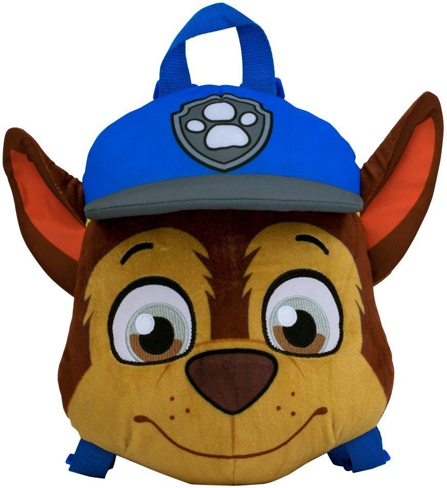 Kinderrucksack, »Paw Patrol CharacterPlush Rucksack Chase«