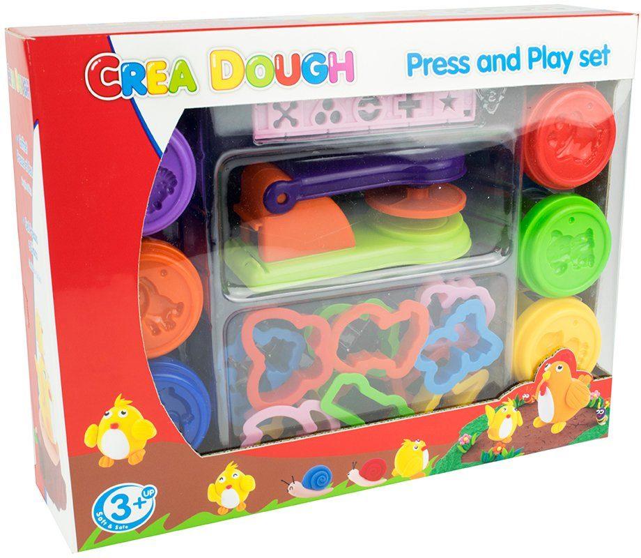 Knetmasse Set, »Crea Dough Press and Play set«