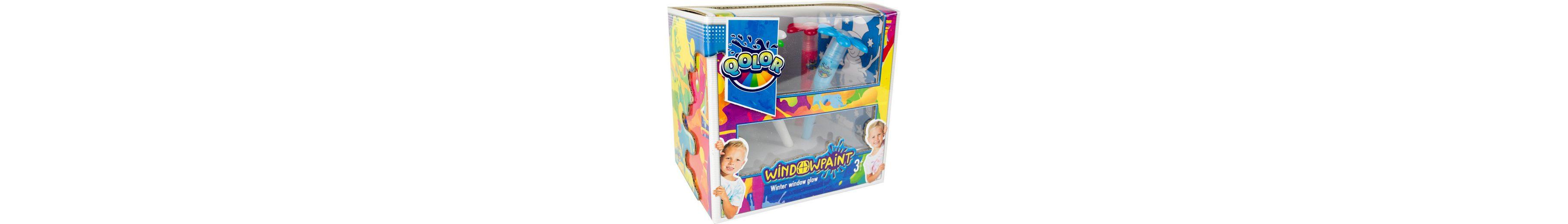 Fensterfarben Set, »Qolor Windowpaint Winter window glow«