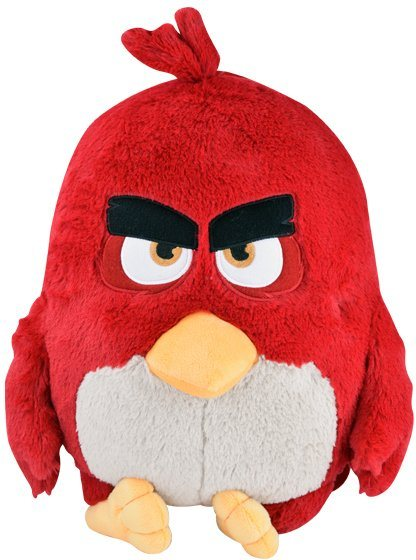 Stofftier mit Licht- und Soundfunktion ca. 35 cm, »Angry Birds™ Red Pillow Light and Sound«