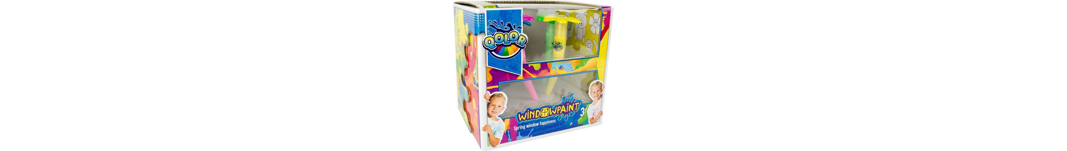 Fensterfarben Set, »Qolor Windowpaint Spring window happiness«