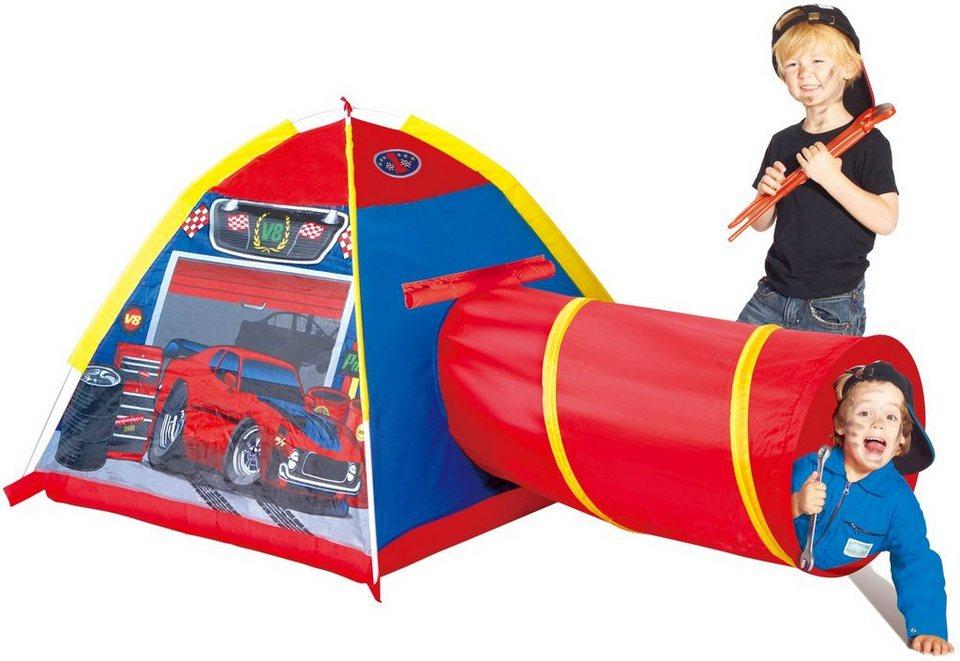 Spielzelt, »Micasa Garage Tent and Tunnel«