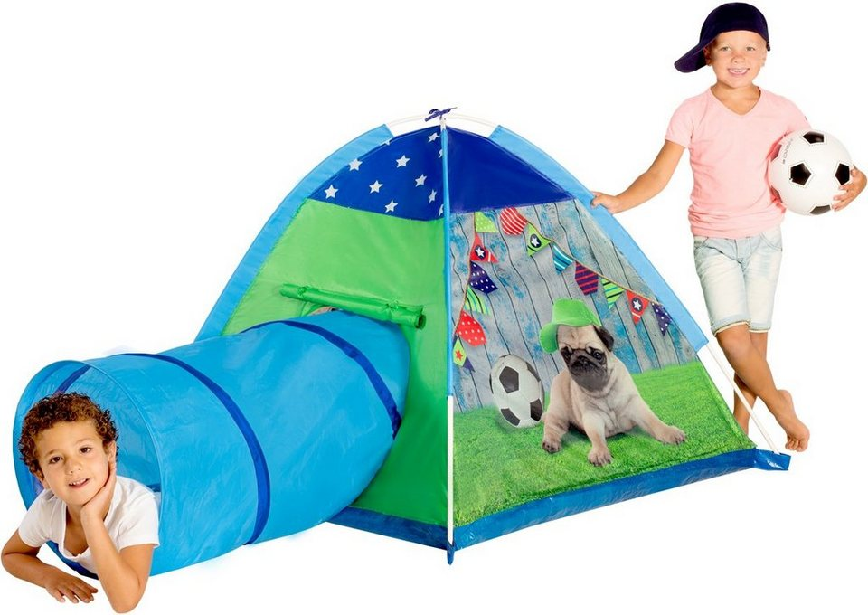 Spielzelt, »Micasa Puppy Tent and Tunnel«