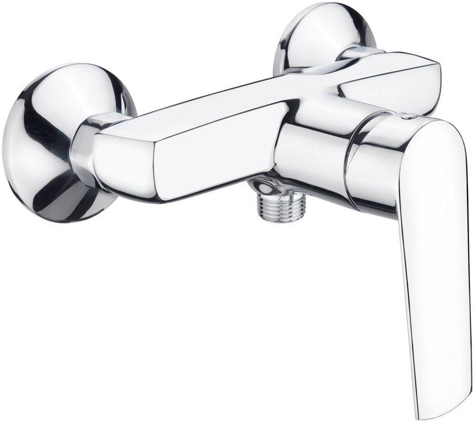 Duscharmatur »Klint«, Einhebelmischer in silberfarben