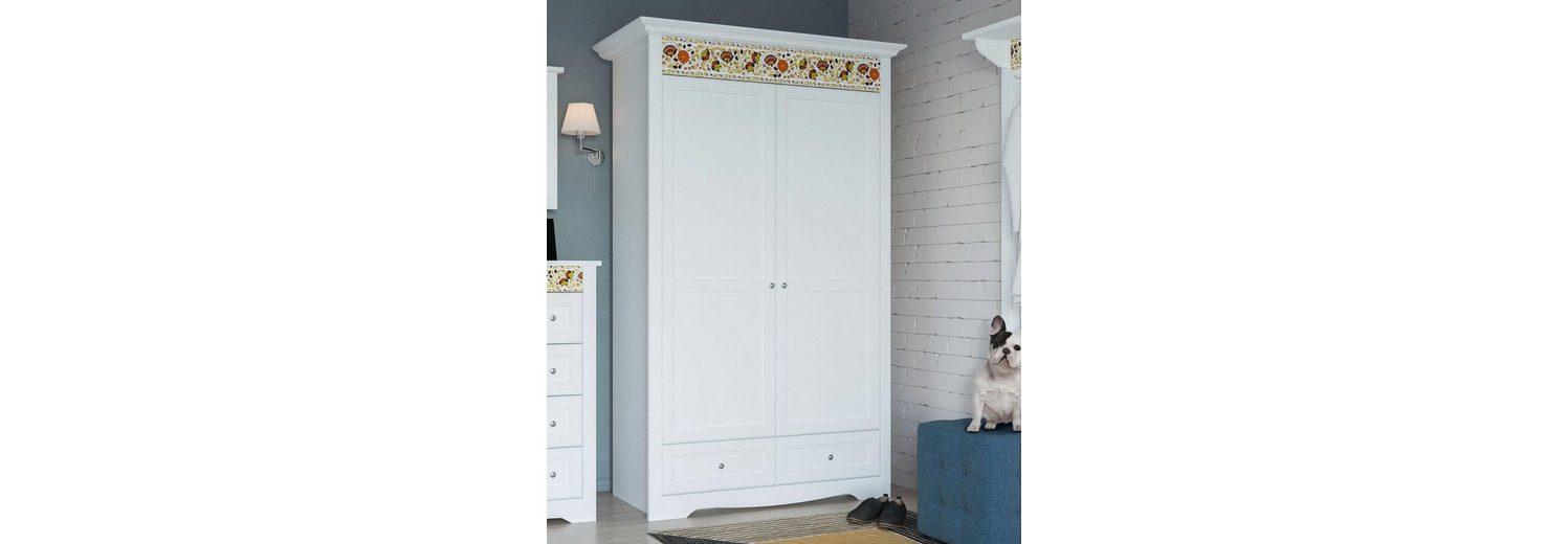 Home affaire Garderobenschrank »Elza« mit dekorativer Folie