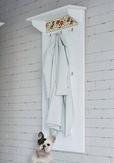home affaire garderobe elza wei mit dekorativem muster breite 60 cm online kaufen otto. Black Bedroom Furniture Sets. Home Design Ideas
