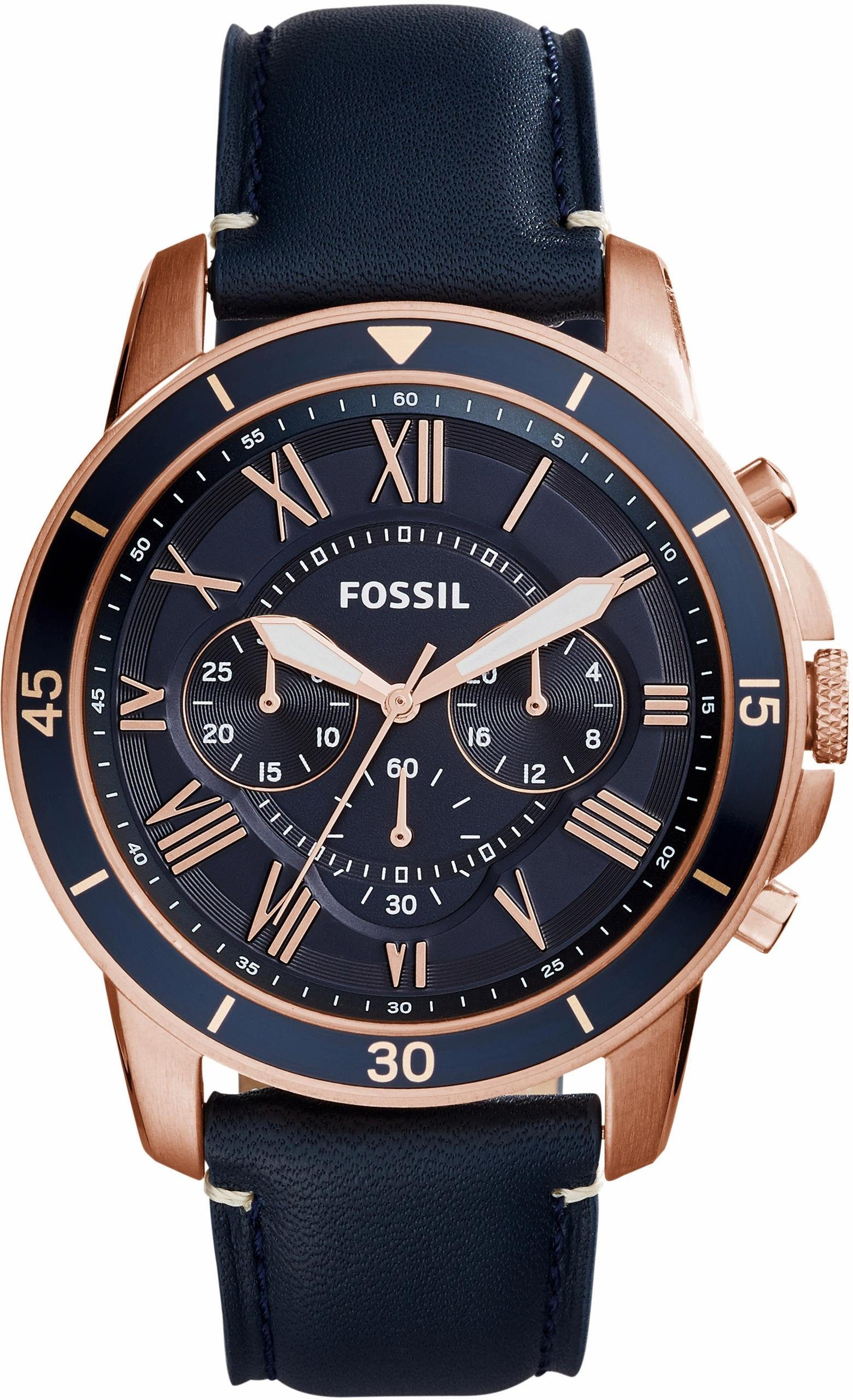 Fossil Chronograph »GRANT SPORT, FS5237«