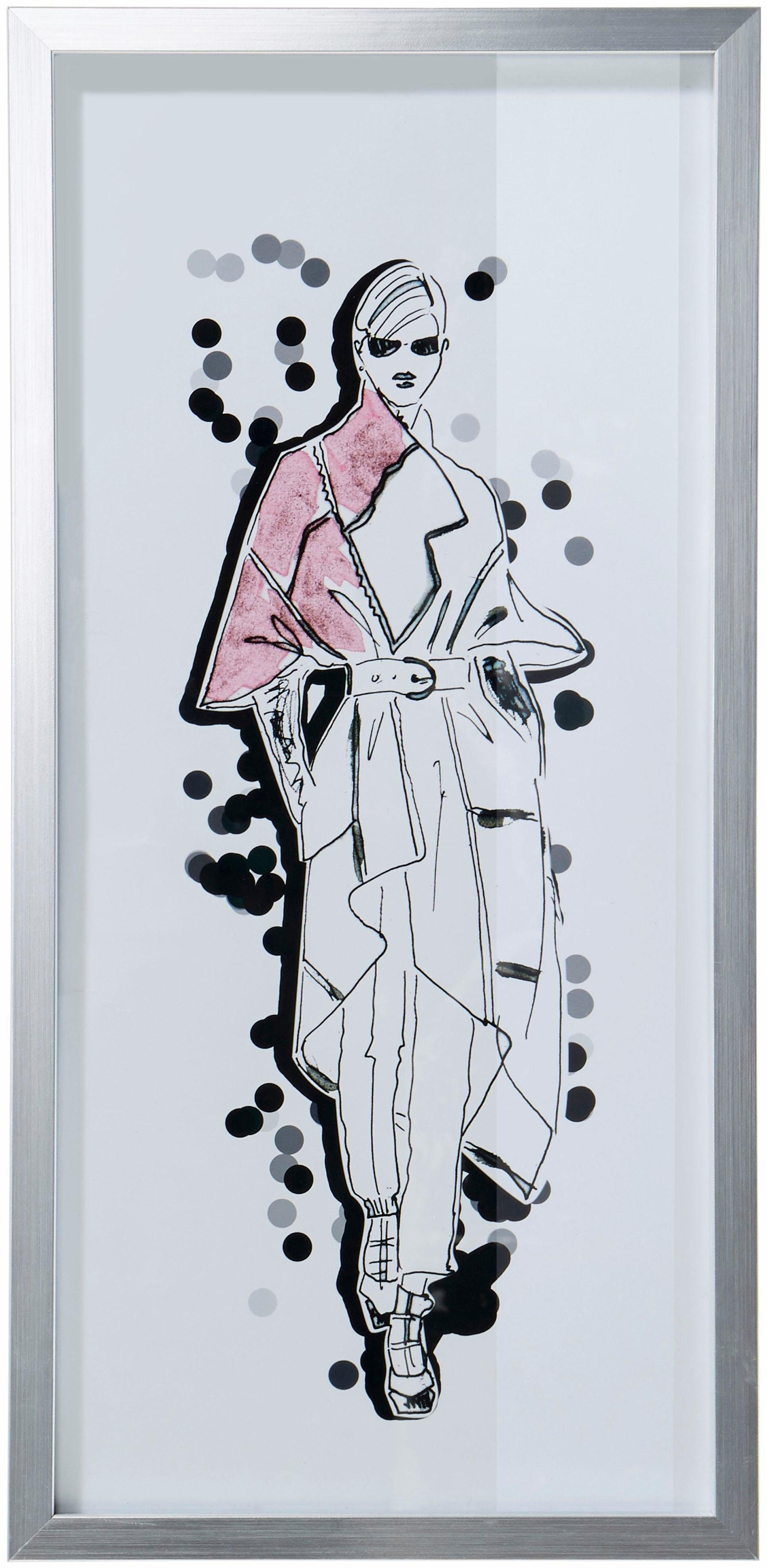 GMK Home & Living »Bild« mit silbernem Rahmen, 23/50 cm