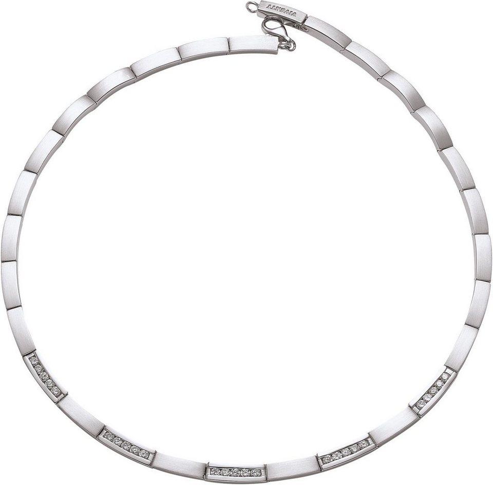 VIVENTY Collier »691698« mit Zirkonia in Silber 925