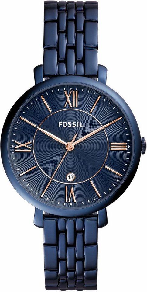 Fossil Quarzuhr »JACQUELINE, ES4094« in blau