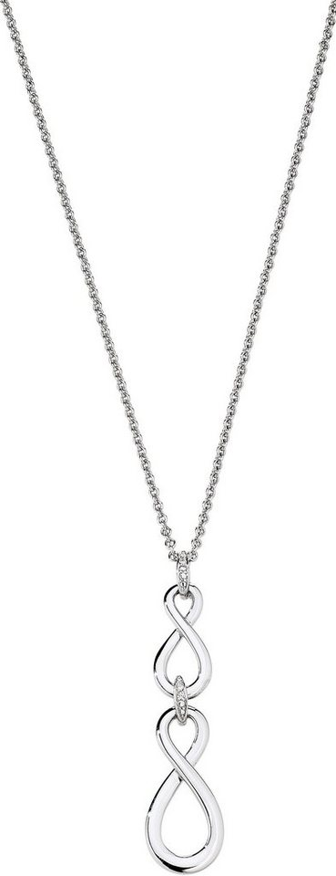 VIVENTY Kette mit Anhänger »Infinity, 775522« mit Zirkonia in Silber 925