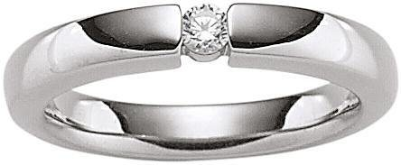 VIVENTY Silberring »773501« mit Zirkonia in Silber 925