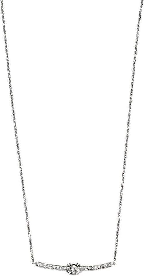 VIVENTY Kette mit Anhänger »775718« mit Zirkonia in Silber 925