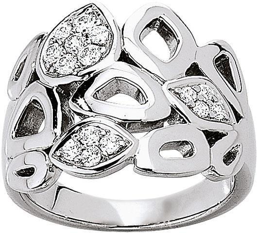 VIVENTY Silberring »775661« mit Zirkonia in Silber 925