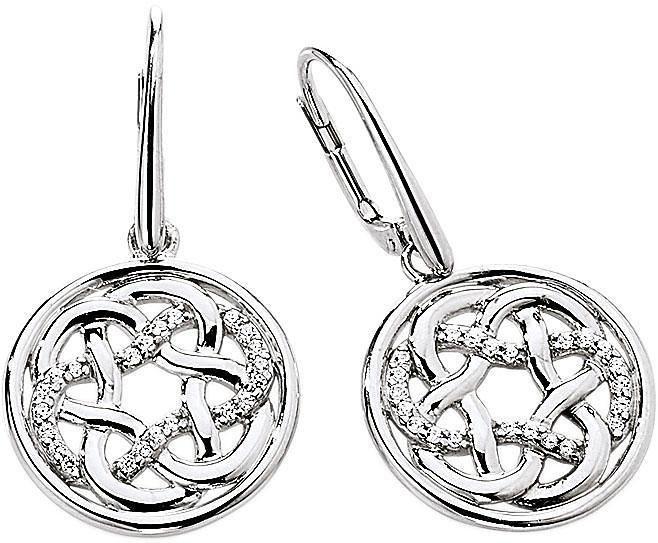 VIVENTY Paar Ohrhänger »775734« mit Zirkonia in Silber 925