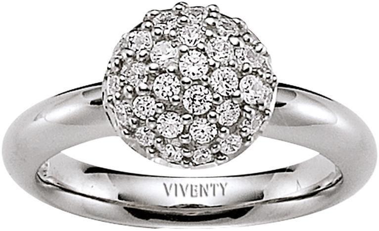 VIVENTY Silberring »762571« mit Zirkonia in Silber 925