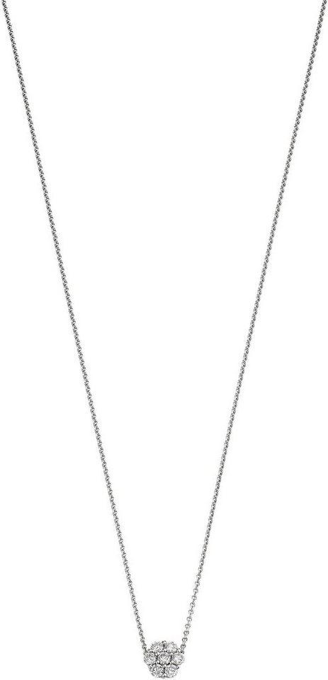 VIVENTY Kette mit Anhänger »776502« mit Zirkonia in Silber 925