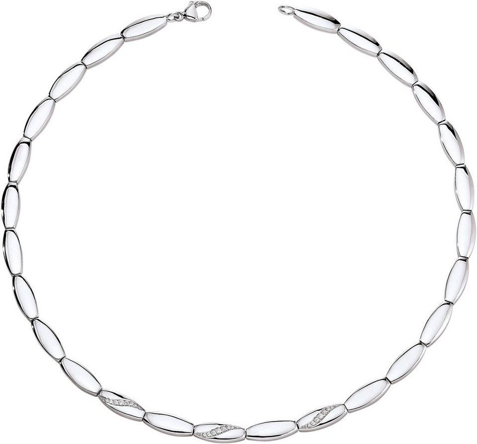 VIVENTY Collier »775638« mit Zirkonia in Silber 925