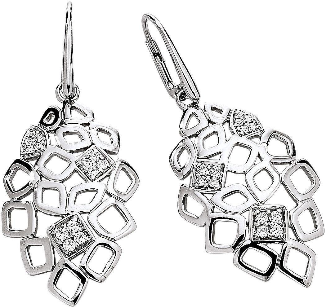 VIVENTY Paar Ohrhänger mit Zirkonia